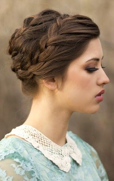 simple braided hair styles 20 easy updo hairstyles for medium hair pretty designs 3212