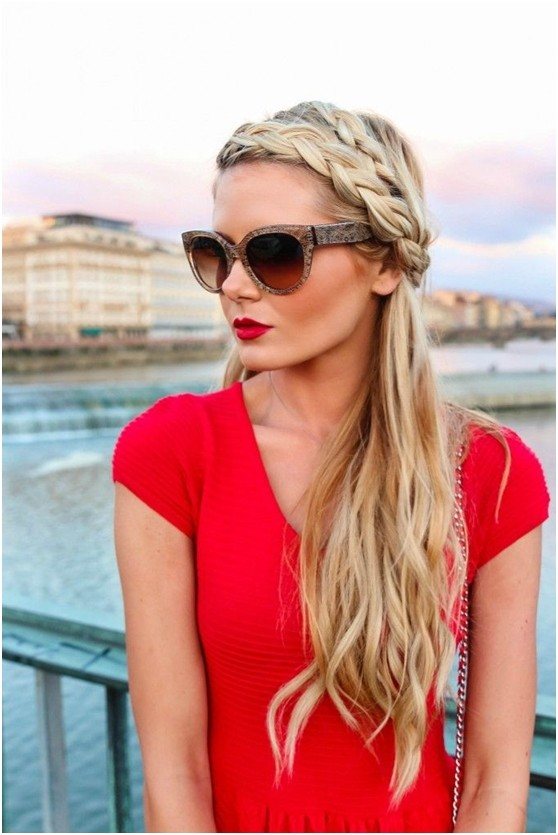 Braided Headband for Holiday Hairstyles