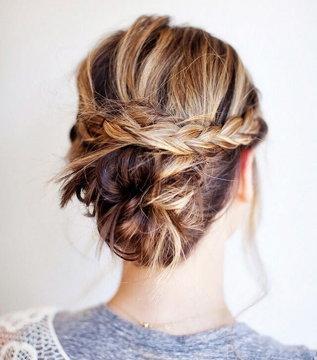 22 gorgeous braided updo hairstyles pretty designs. Black Bedroom Furniture Sets. Home Design Ideas