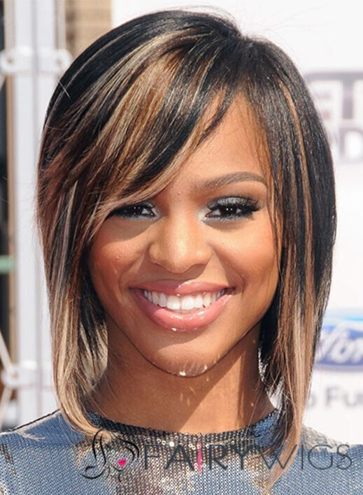 Brianna Perry Straight Bob Hairstyle