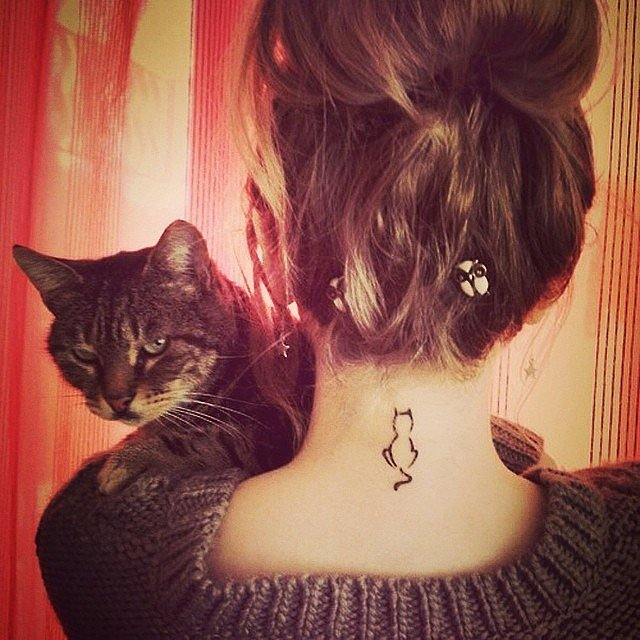 Cat-Lady Tattoo