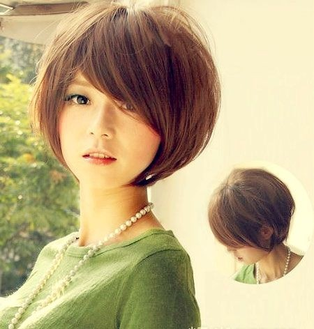 Image result for Asian short haircut