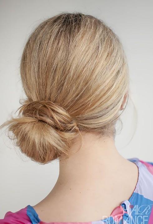 28 Super Cute Bun Hairstyles for Girls - Pretty Designs