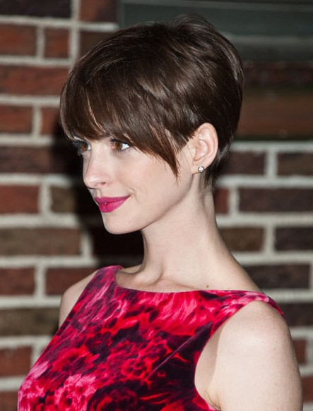 Easy Pixie Haircut for Brown Hair