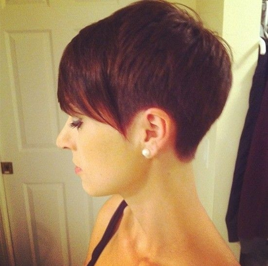Easy Pixie Haircut For Red Hair