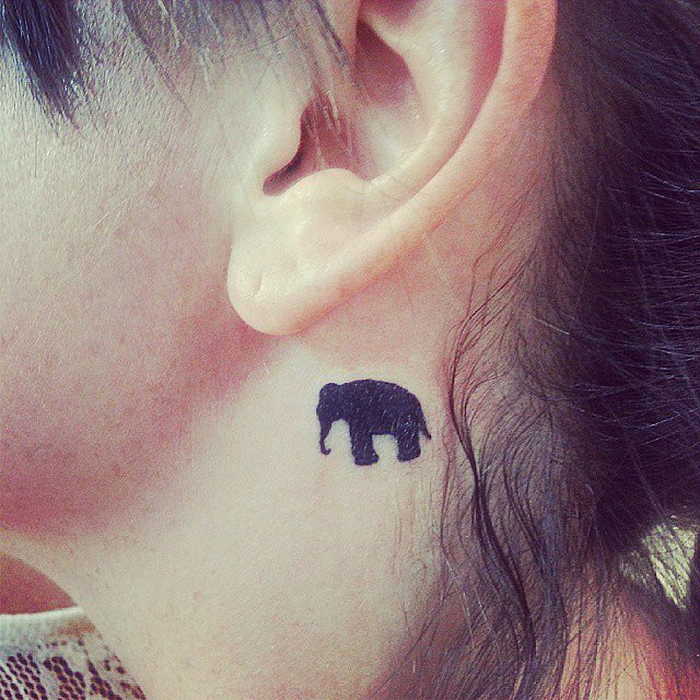 Elephant-Lover Tattoo