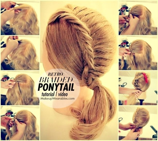 Easy fishtail braid hairstyle tutorial indian beauty tips.