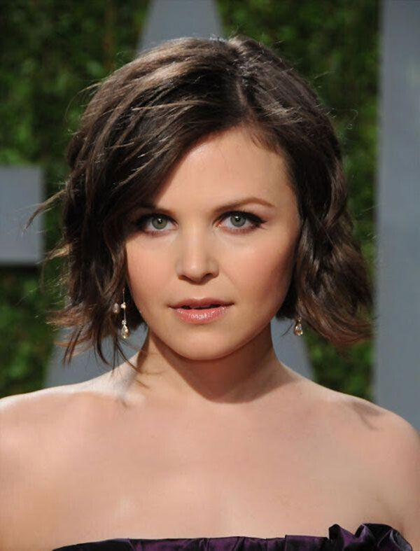 Ginnifer Goodwin Short Wavy Hairstyle