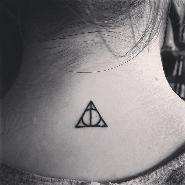 Harry-Potter-Fan tattoo for women