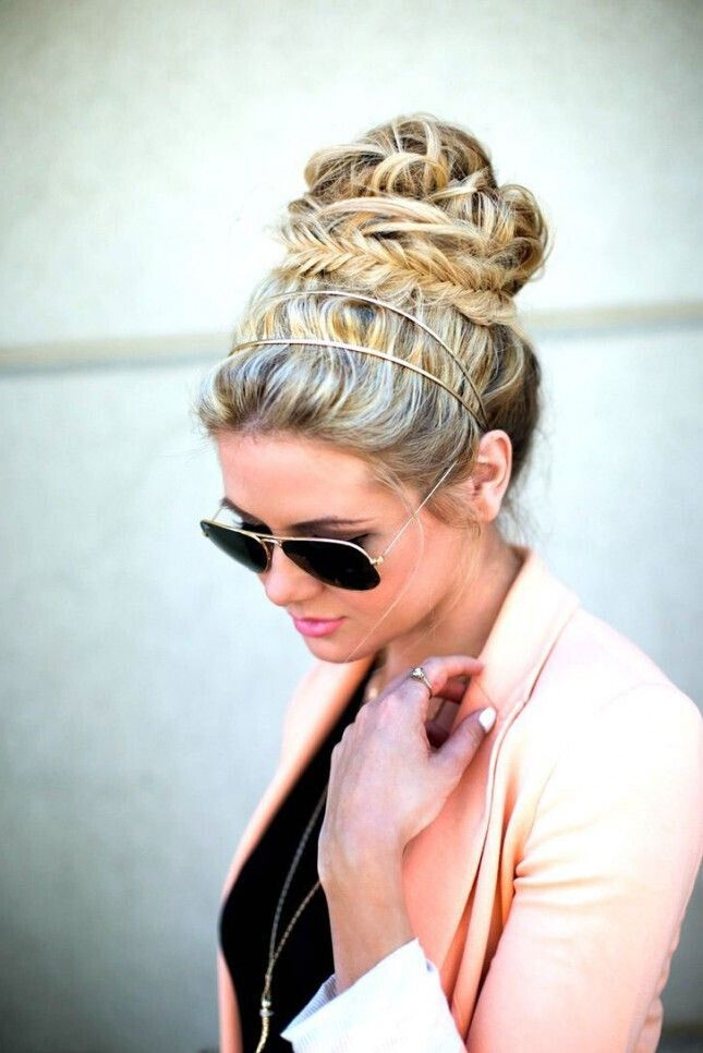 High Bun for Updo Hairstyles