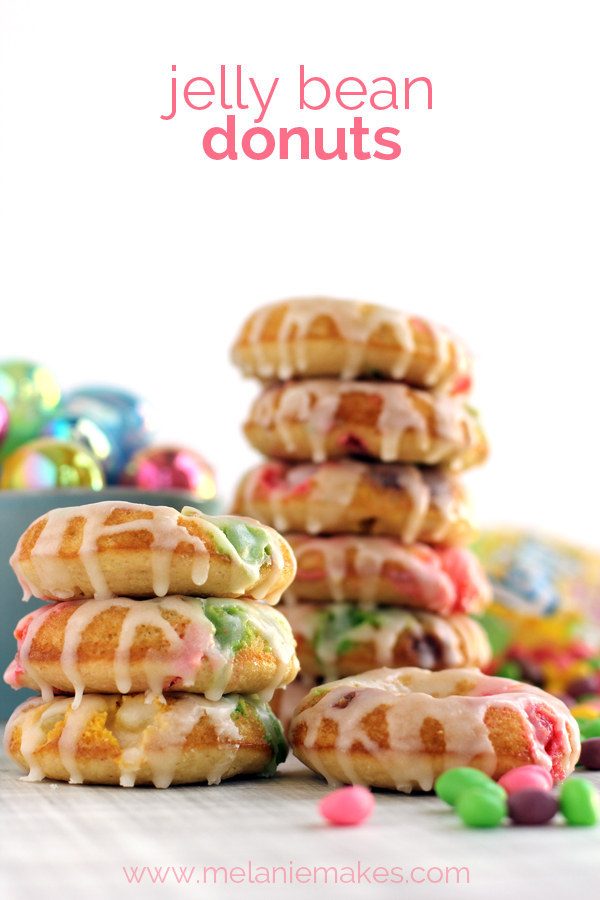 Jelly Bean Donuts