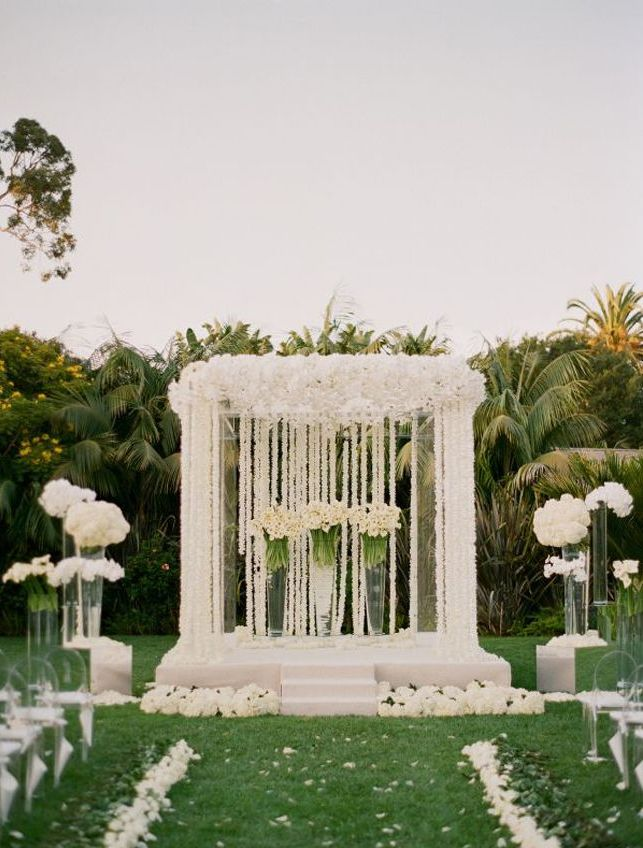 Pretty outdoor wedding ideas for spring pretty designs for Outdoor spring decorations