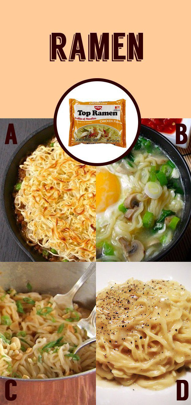 Lazy Cooked Ramen