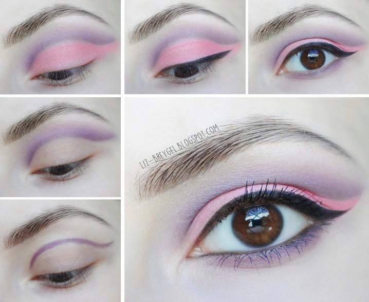 Lilac Eye Makeup