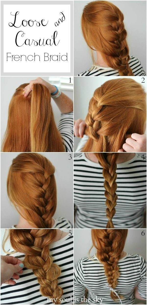 Prime How To Make A French Braid On Hair Braids Short Hairstyles Gunalazisus