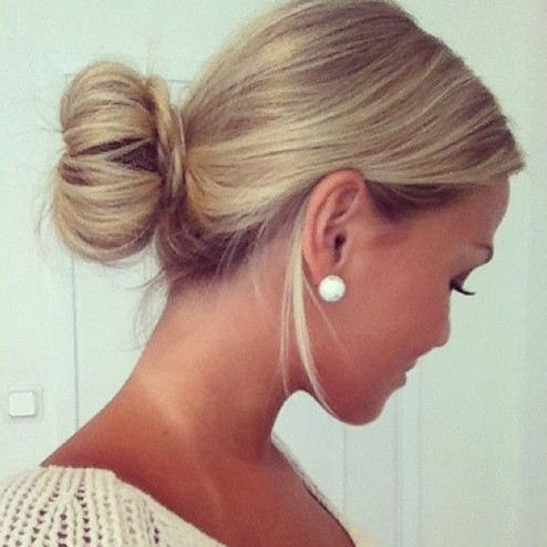 28 super cute bun hairstyles for girls  pretty designs