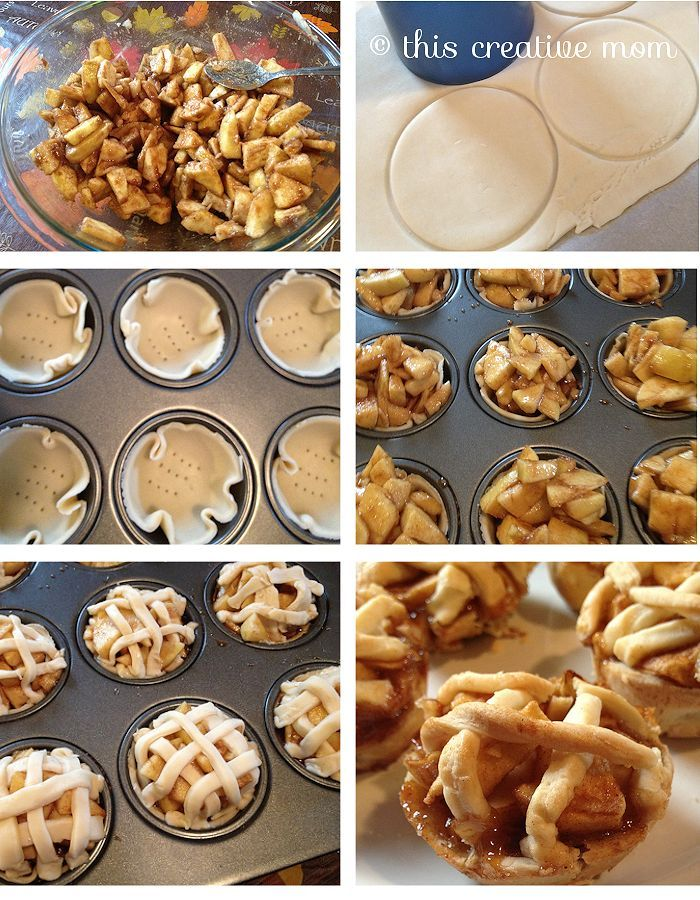 Easy Mini Apple Pies Recipe — Dishmaps