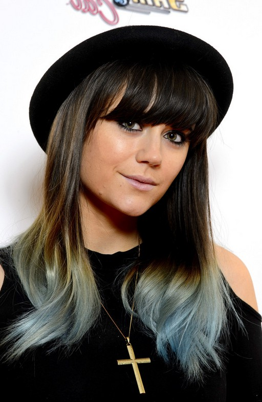 Terrific Blunt Bangs With Ombre Hair Short Hairstyles For Black Women Fulllsitofus