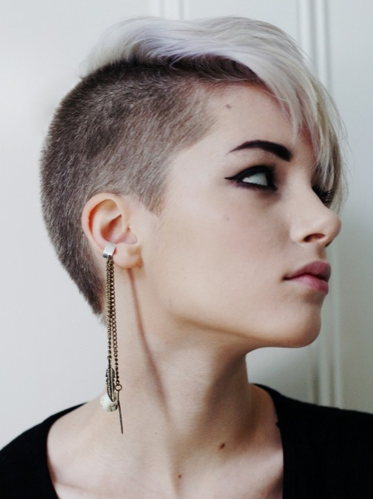 Pixie Haircut with Asymmetry Cut