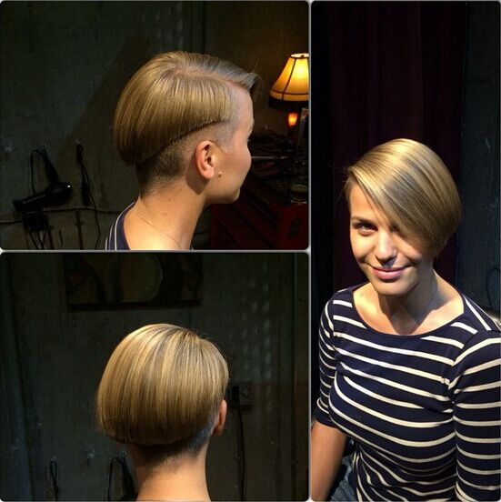 Short Bob Haircut for Straight Hair