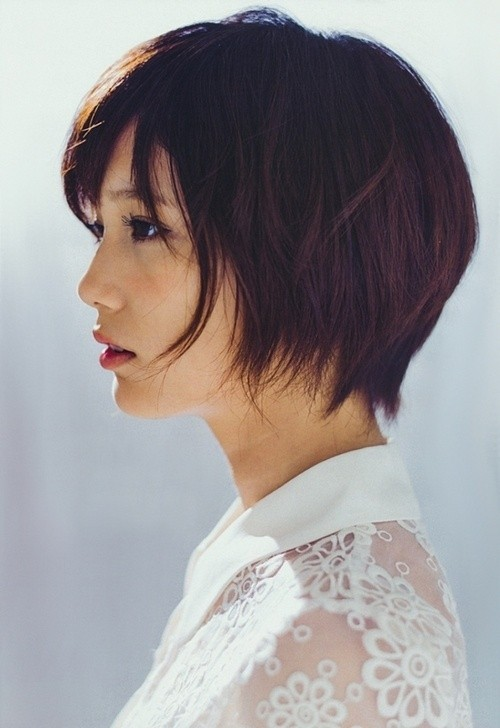Short Layered Haircut for Summer
