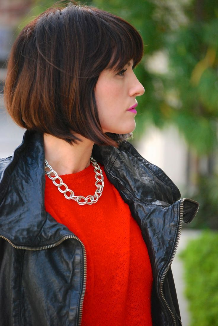 Cool Blunt Bangs With Ombre Hair Short Hairstyles Gunalazisus