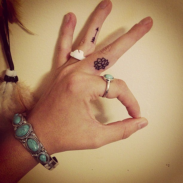 Small Tattoo Designs For Girls: 40 Cute Tiny Tattoo Ideas For Girls