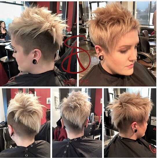 Spiked Hairstyle for Short Hair