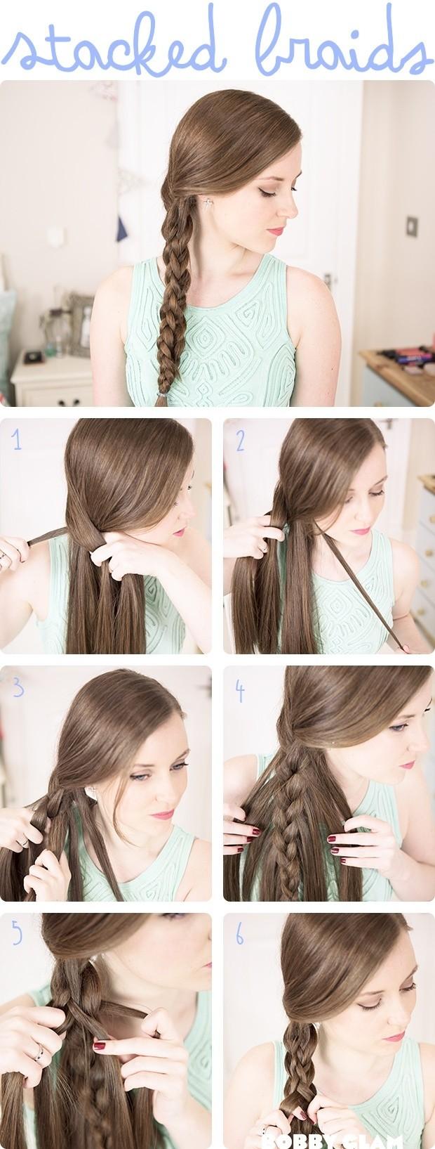 Прически на каждый день длинные волосы с фото8