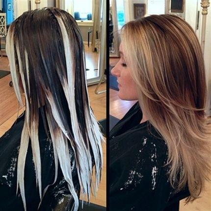 Stylish Hair Colors for Long Hair