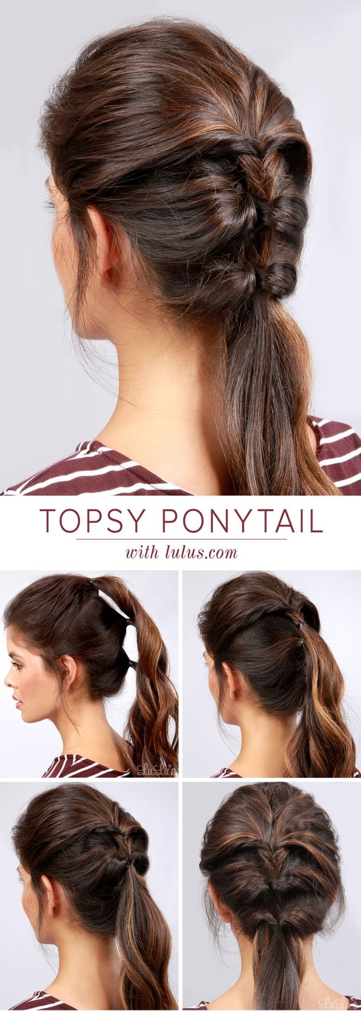 Pleasing 22 Great Ponytail Hairstyles For Girls Pretty Designs Short Hairstyles For Black Women Fulllsitofus