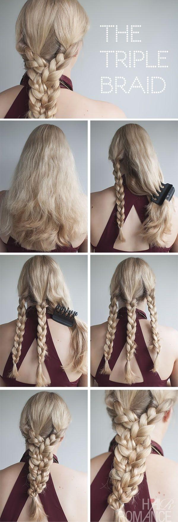 Прически с косичек на средние волосы пошагово