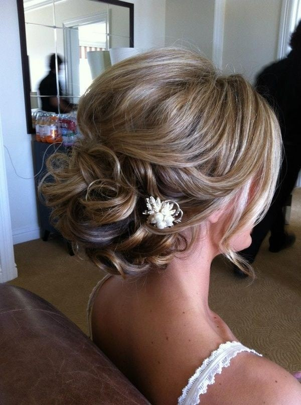 Twisted Bridesmaids Hairstyle