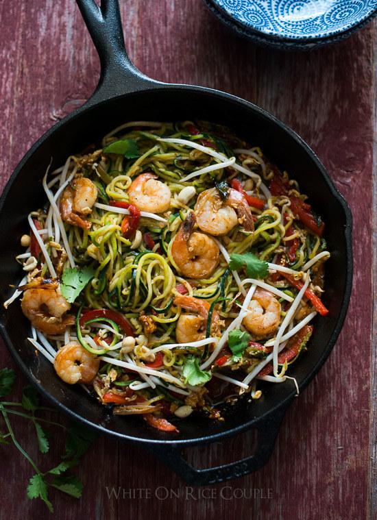 noodle zucchini thai recipe pad Thai Zucchini Recipe Noodle Pad