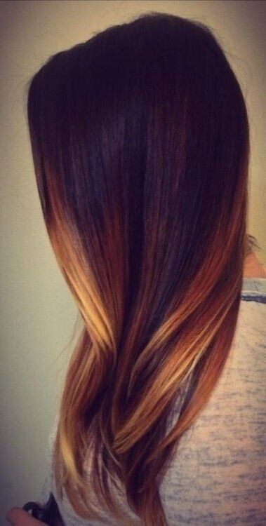 Ombre highlights on straight hair hairs picture gallery ombre highlights on straight hair photos pmusecretfo Image collections