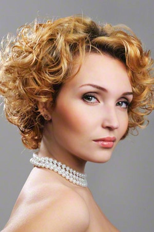Short Hairstyles For Curly Hair Women 3