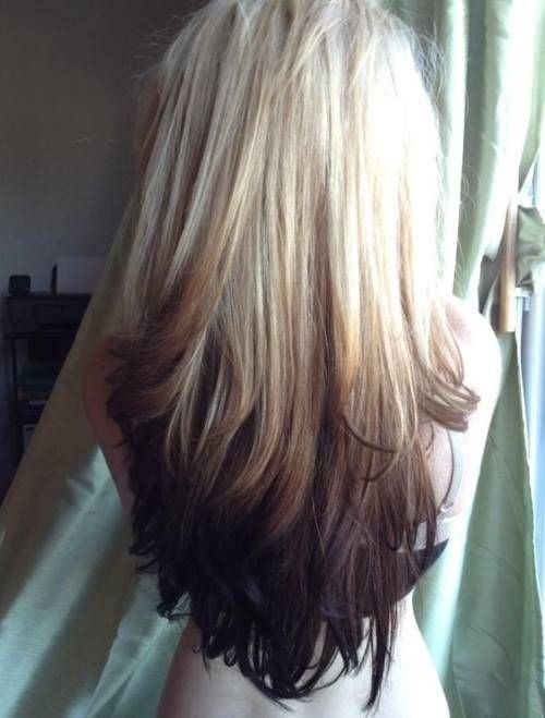Swell 16 Cool And Edgy Black Blonde Hairstyles Pretty Designs Short Hairstyles Gunalazisus