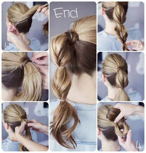 Cute Ponytail For Back To School Hairstyles