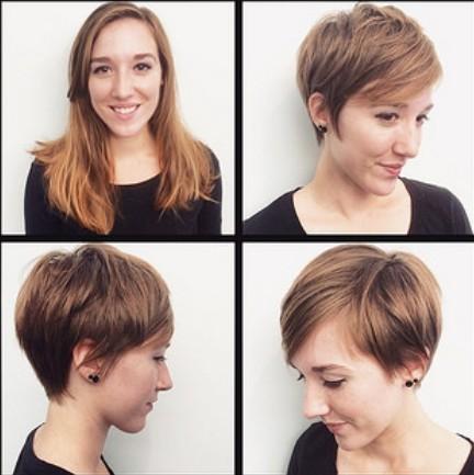 Cute Short Haircut for Fine Hair