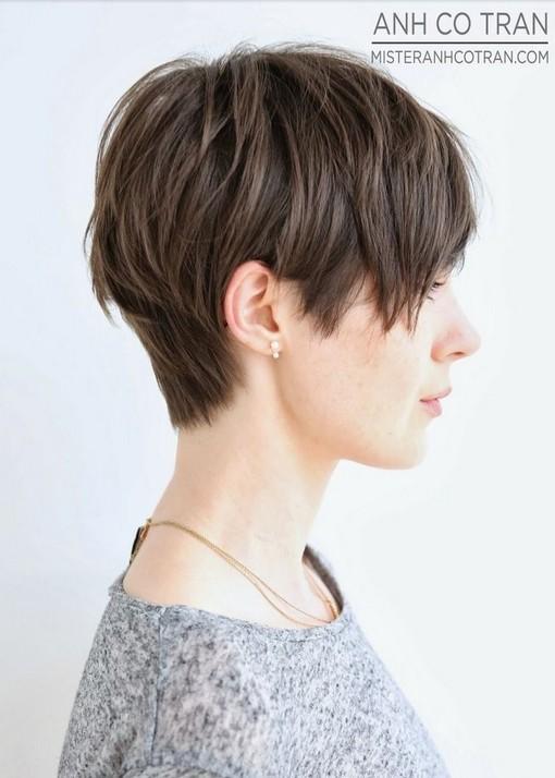 Cute Short Layered Haircut