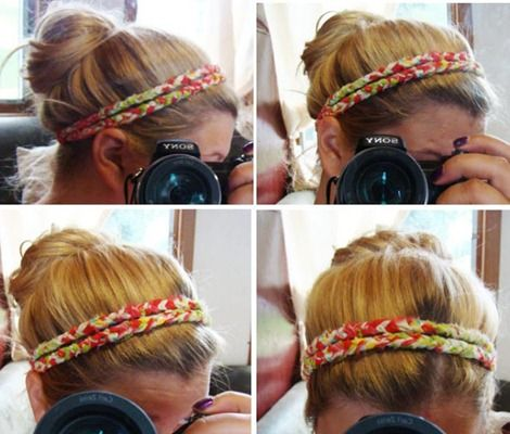 DIY Hair Accessories - Braided Headband