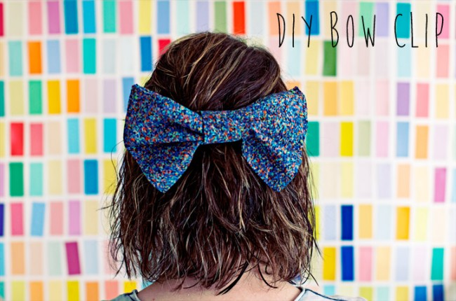 DIY Hair Accessories - Maxi Hair Bow