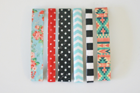 DIY Hair Accessories - Patterned Hair Clip