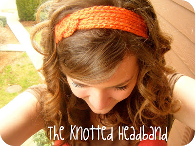 DIY Hair Accessories - The Knotted Headband