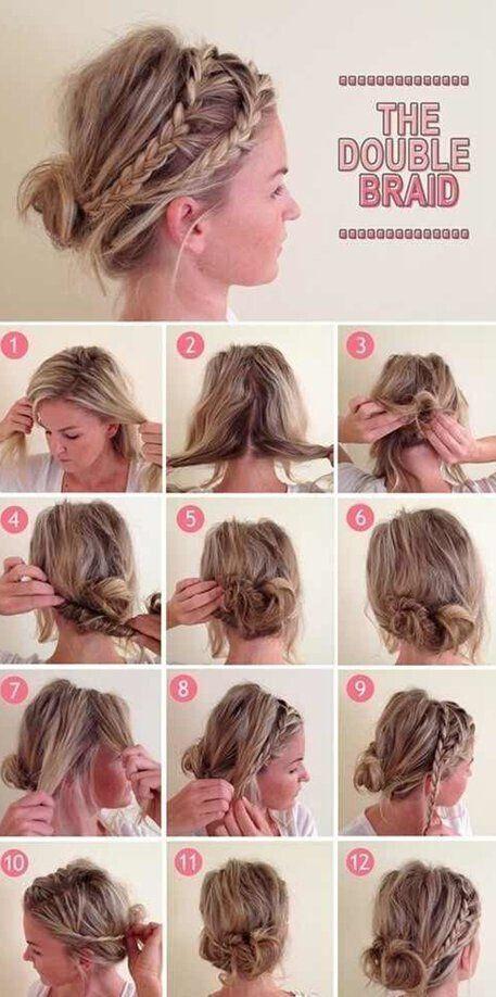Pleasing 16 Easy And Chic Bun Hairstyles For Medium Hair Pretty Designs Hairstyles For Men Maxibearus