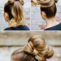 Cute High Bun Hairstyle Tutorial