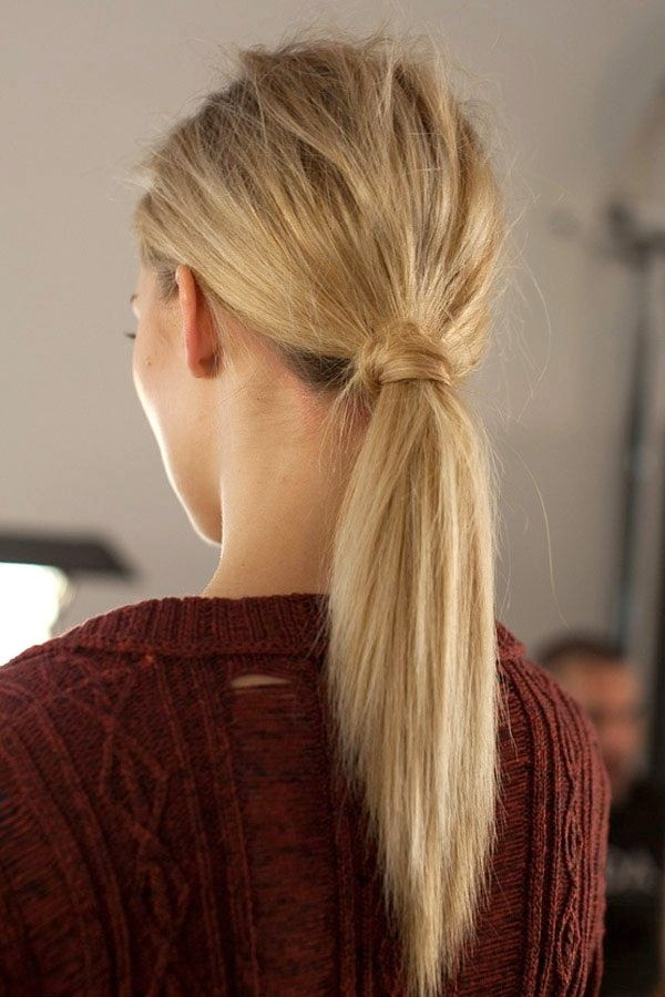 Easy Ponytail for Summer Hairstyles