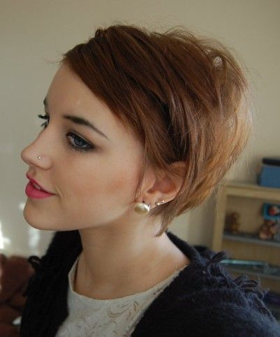 Cute Hairstyles For Girls With Short Hair 42
