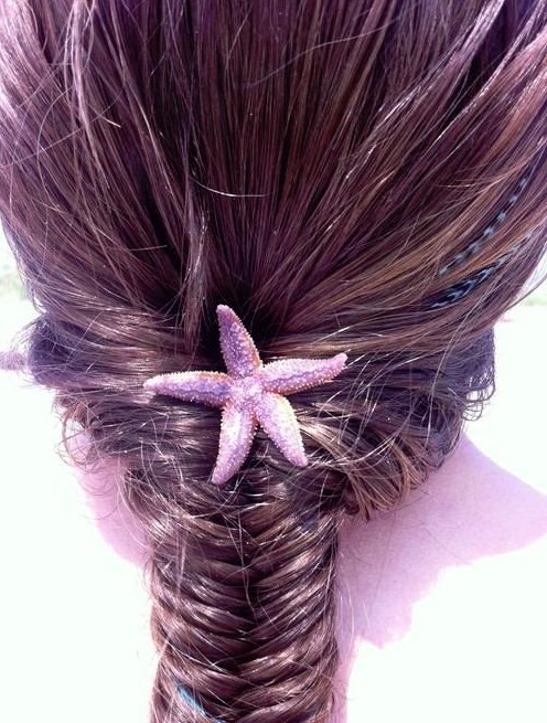 Fishtail French Braid Hairstyle