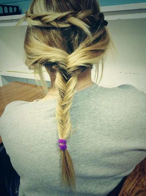 Fishtail Twist Braid Hairstyle for Holiday